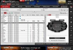 PokerStars lobby cash game