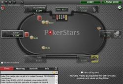 PokerStars pokersidas mjukvara